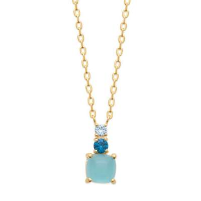 Necklace Gold plated 18k - Women - 45cm