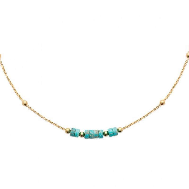 Necklace Jaspe Gold plated 18k - Women - 45cm