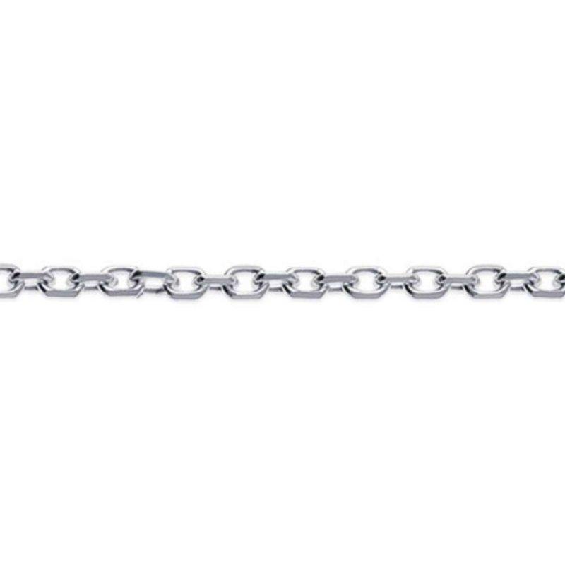 Kette de cou Forcat 925 Sterling Silber rhodiniert - Männer/Damen - 42cm