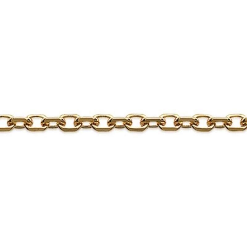 Catena Forcat Placcato in oro 18k - Uomo/Donna - 55cm