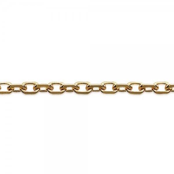 Catena de cou Forcat Placcato in oro 18k - Uomo/Donna - 40cm