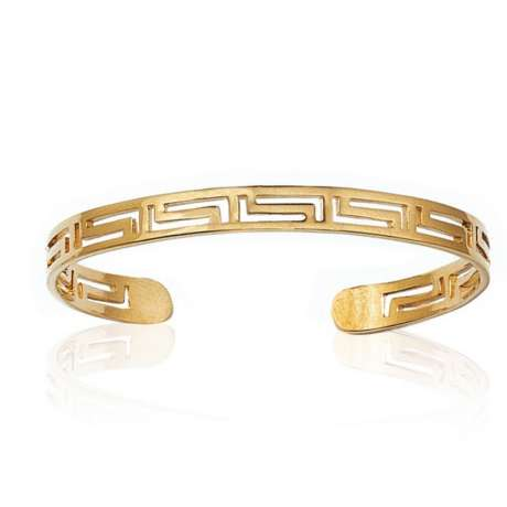 Bracciale Bangle Placcato in oro 18k - Donna - 58mm