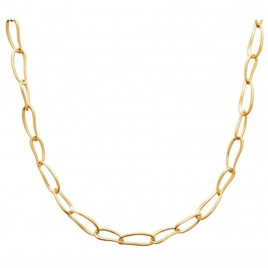 Collier Plaqué or - Femme - 45cm