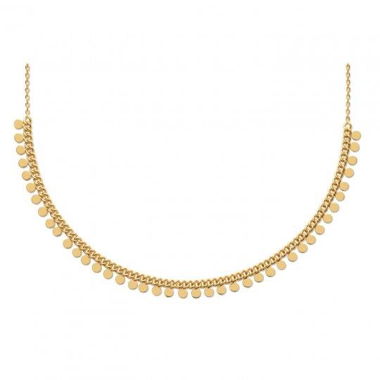 Collana Breloque Placcato in oro 18k - Donna - 42cm