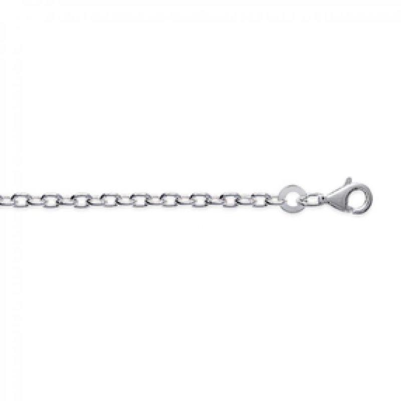 Kette Forcat 925 Sterling Silber - Männer/Damen - 50cm
