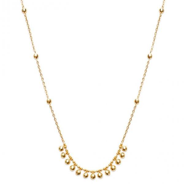 Collana en arc breloques Ciotole Placcato in oro 18k - Donna - 45cm