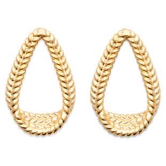 Boucles d'oreilles Plaqué or 750/1000 - Femme