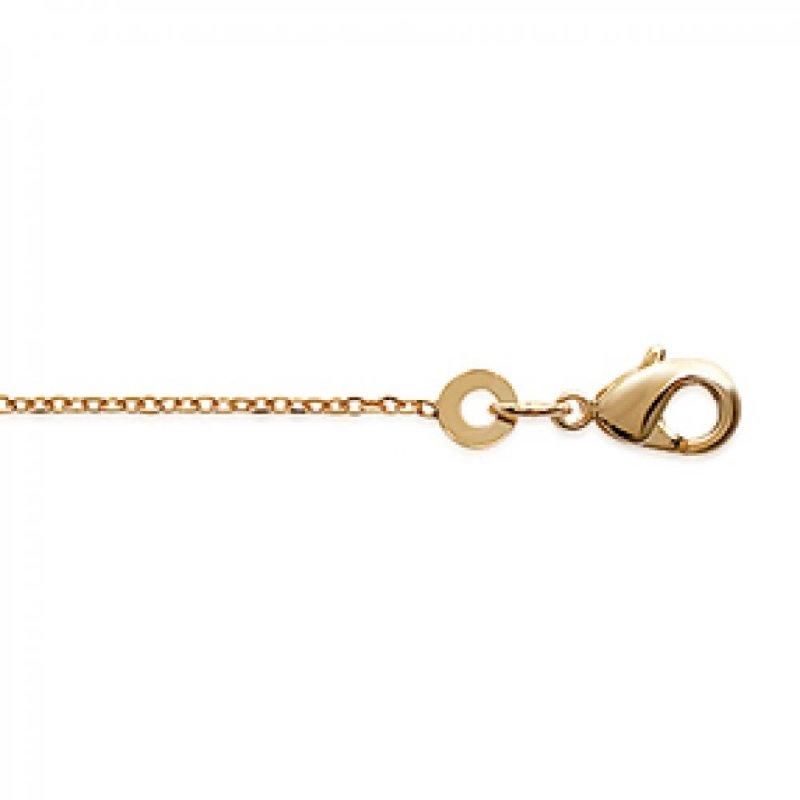 Chain de cou Forcat Gold plated 18k - for Men/Women - 38cm