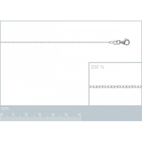 Catena de cou Forcat Argento Sterling 925 - Uomo/Donna - 42cm