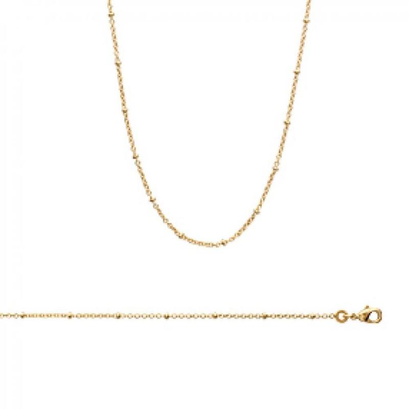 Catena de cou Placcato in oro 18k - Donna - 45cm
