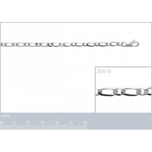 Catena Argento Sterling 925 - Uomo - 55cm
