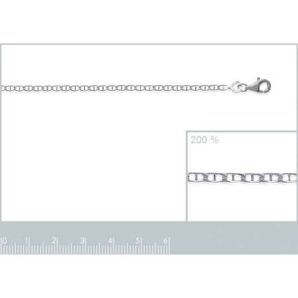 Catena de cou Marine Argento Sterling 925 - Uomo/Donna - 45cm