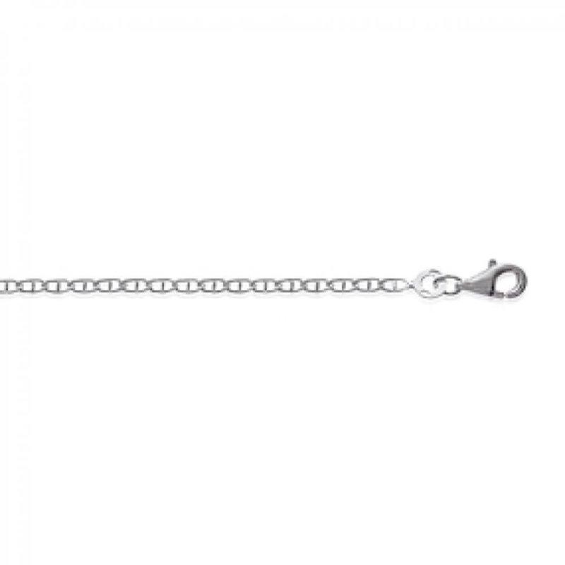 Chain Marine Sterling Silver - for Men/Women - 50cm
