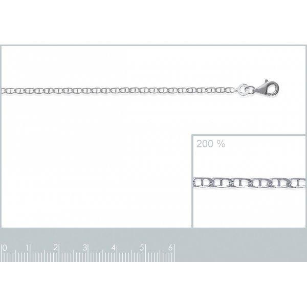 Catena Marine Argento Sterling 925 - Uomo/Donna - 50cm