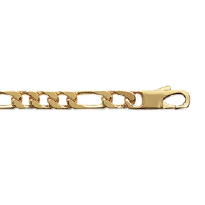 Kette Figaro Vergoldet 18k - Männer - 50cm