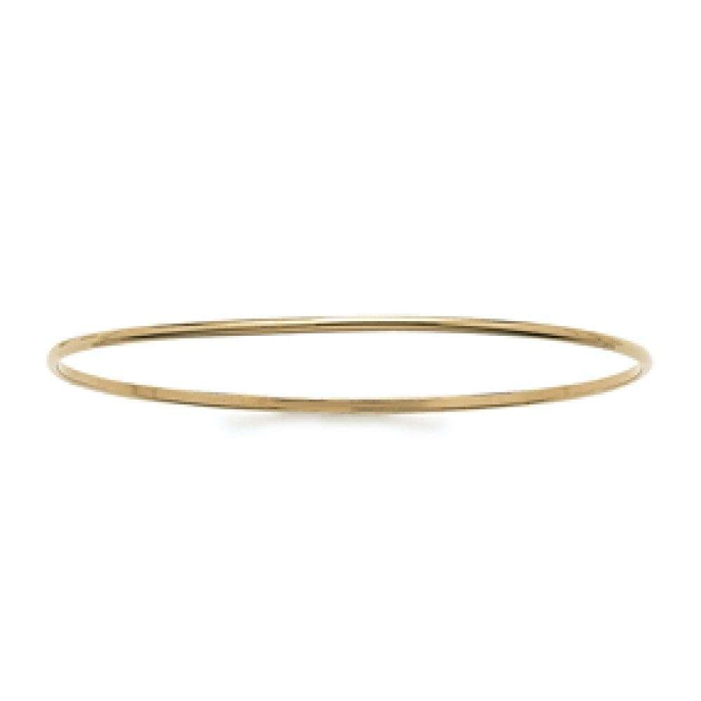 Demi-Bangle Simple Gold plated 18k - Women - 62mm