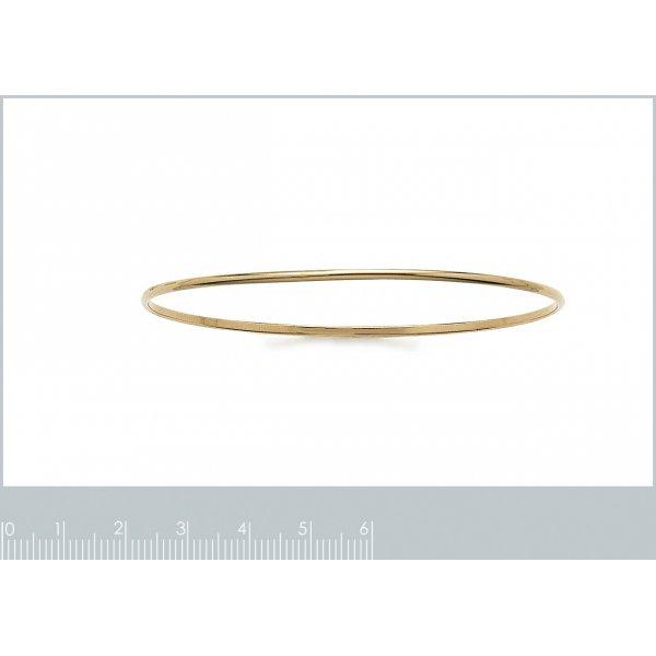 Demi-Bracciale Bangle Simple Placcato in oro 18k - Donna - 66mm