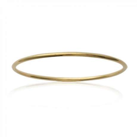 Bracciale Bangle Simple Placcato in oro 18k - Bambino - 54mm