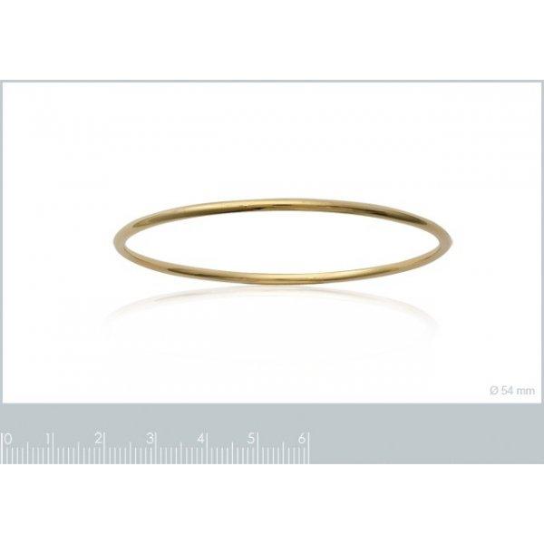 Bracciale Bangle Simple Placcato in oro 18k - Bambino - 62mm