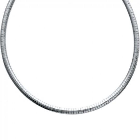Necklace Torque Omega Acier 316L - Women - 45cm