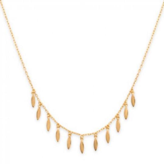Collar Breloque Gipsy bohème Chapado en Oro 18K - Mujer -...