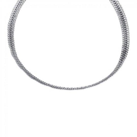 Necklace Torque Acier 316L - Women - 42cm