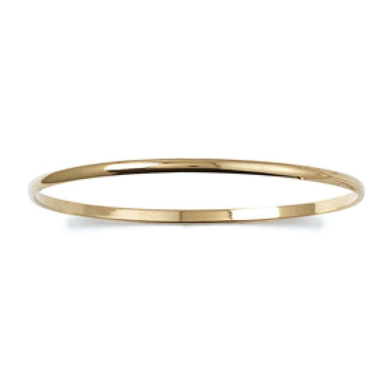 Demi-Bangle Gold plated 18k - Women - 66mm
