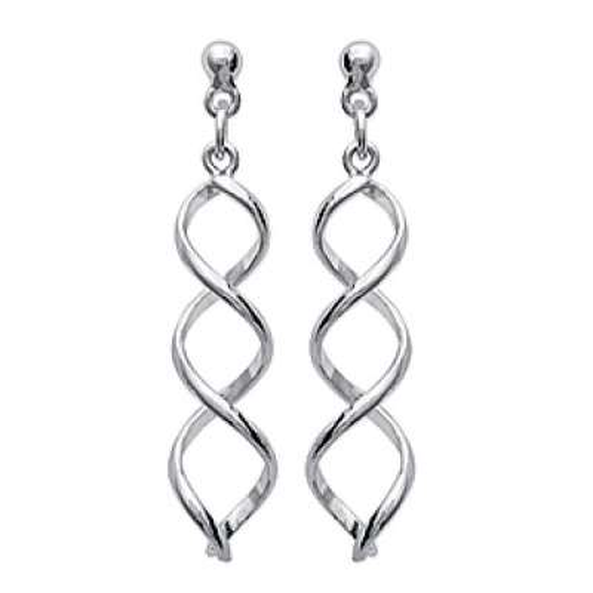 Earrings Torsadées  Argent