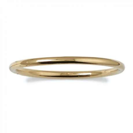 Bracciale Bangle Largeur 5mm Placcato in oro 18k - Donna - 62mm